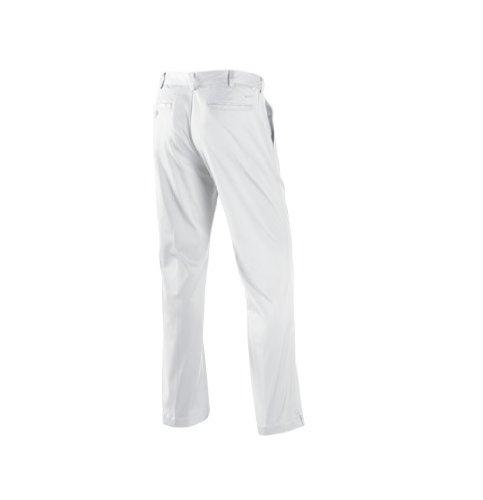 Nike Golf Men's Flat Front Tech Pant - 34-30 - White