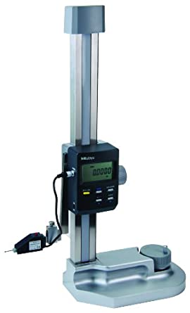 """Mitutoyo 574-212-1A LCD Heightmatic, High Precision Height Gauge, SPC Output, 0-12"""" Range, 0.0001"""" Resolution, +/-0.0002"""" Accuracy, 13.6kg Mass"""