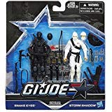 G.I. Joe, 50th Anniversary, Arashikage Clash Action Figure Set (Snake Eyes vs Storm Shadow), 3.75 Inches
