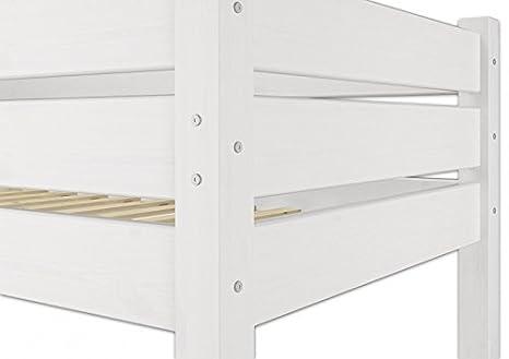 Etagenbett Erwachsene 100x200 : Erst holz  w etagenbett für erwachsene weiß cm