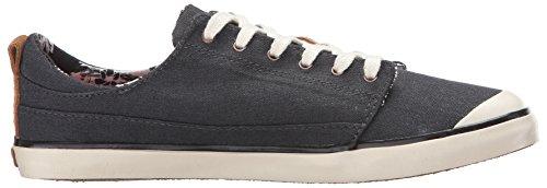 Reef Damen Girls Walled Low Sneaker Black/White