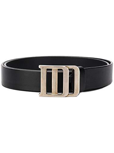 (Dsquared2 Men's Bem019812900001m1601 Black Leather Belt)