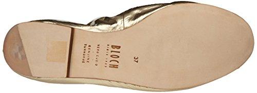 Bloch Luxury, Ballerine da Donna Dorato(gold (Or (Metallic Platino/Black)))