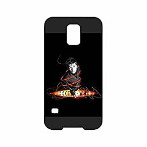 Film Doctor Who Tardis Galaxy S5 Case, Scratch Resistent Slim Thin Plastic Protector Cover Compatible with Samsung Galaxy S5 i9600