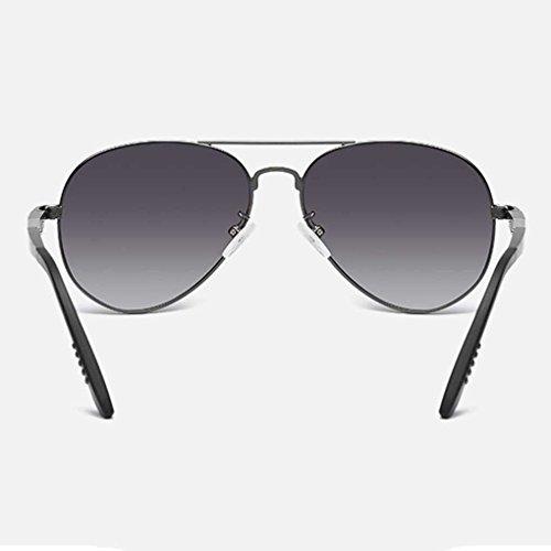 polarizada Gafas de Sol Marco Eyewear Providethebest Sol luz de Metal Doble de Manera Boy Gafas de Color piloto Hombres los 4 Coolsir de de la 1dnFW4UB