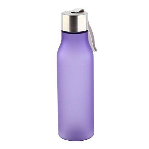 eDealMax Plastique extérieur givré bouteille D'eau, Tasse de Jus de Fruits Portable, Course 4