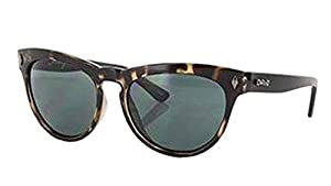 Carve Eyewear Sway Tortoise/Matte Black With Polycarbonate Green Lens