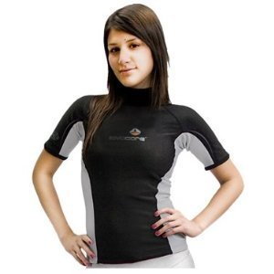New Women's LavaCore Trilaminate Polytherm Short Sleeve Shirt (Medium) for Extreme Watersports by Lavacore