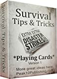 Survival Tips and Tricks Playing Cards version 1