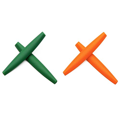 Replacement Earsocks Accessories for Oakley M Frame Series Green&Orange -