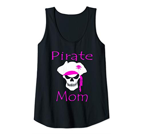 Womens Pirate day pirate mom pirates shirt DIY pirate costume Tank Top]()