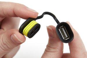 Ingresso USB universale Veicoli Fuoristrada e Auto Caricatore del telefono del motociclo Pu/ò essere utilizzato con Scooter Ciclomotori 12 volt // 24 volt