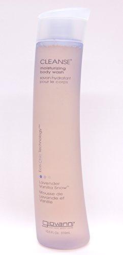 Giovanni Cleanse Body Wash, Lavender Vanilla Snow, 10.5 fl oz (310 (Giovanni Cosmetics Hair Body Wash)