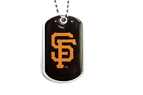 San Francisco Giant Schedule (San Francisco Giants Dog Tag Domed Necklace Charm Chain Mlb)
