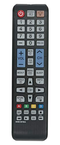 New AA59-00785A Replaced Remote fit for Samsung Plasma TV UN24H4000AF UN28H4000AF UN28H4000AFXZA UN32JH4005FXZP UN40H4005AF UN48H4005AF UN48H4005AFXZA UN58H5005AFXZA LT24D310NHL/ZA PN43F4500