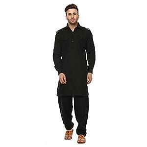 Hangup Men's Cotton Kurta Pyjama