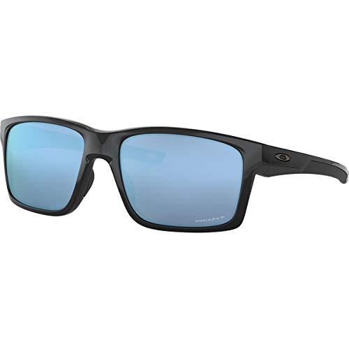 Oakley Men's Mainlink XL Sunglasses,OS,Polished Black/Prizm Deep Water ()