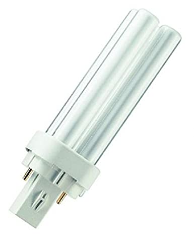 Warm White Crompton Compact Fluorescent D type 2 Pin CLD10SWW 2700k