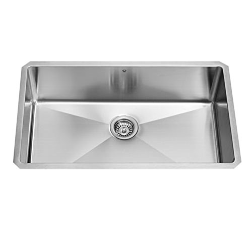 Vigo Stainless Steel Single-bowl Undermount Kitchen Sink