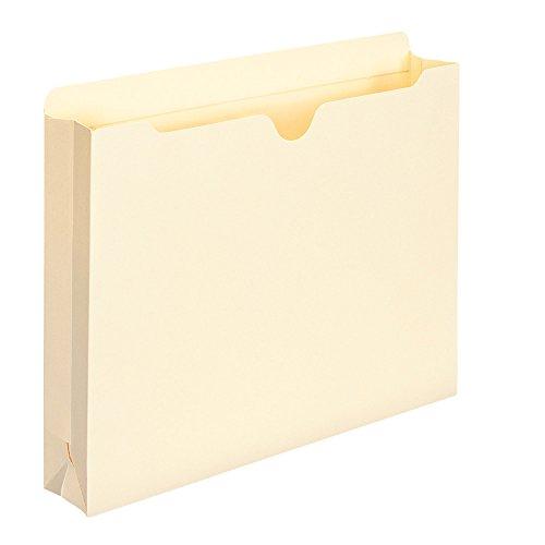 Smead File Jacket, Reinforced Straight-Cut Tab, 2