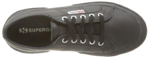 Superga 2750-FGLJ WT S0024T0 - Zapatos bajos de cuero para Negro (A09 Full Black)