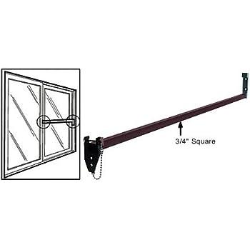 Ideal Security Inc Patio Door Security Bar With AntiLift Lock - Security bars for patio doors