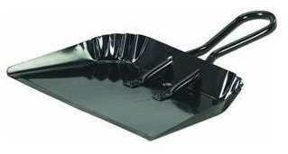 Cequent Consumer Products H495 Dust Pan, Heavy-Duty Metal, 16-In. - Quantity 12 by Cequent