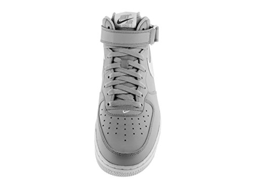 Nike Herren Air Force 1 Mid '07 Basketballschuh Grau