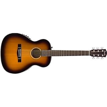 Fender CT-140SE Acoustic-Electric Guitar with Case - Travel Body Style - Sunburst Finish