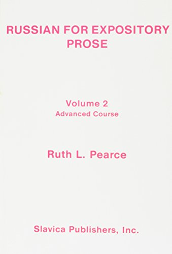 Russian for Expository Prose: Advanced Course