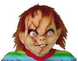Chucky Mask Costume Accessory (Girl Chucky Costume)