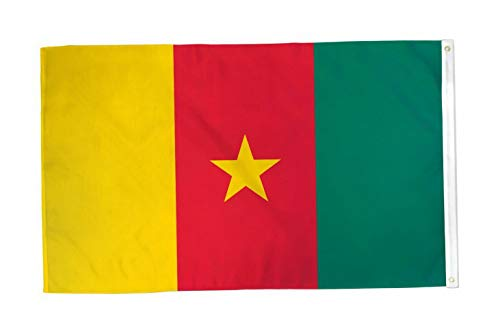 Flag Cameroon T-shirt - Kaputar 3x5 Cameroon Flag Country Banner New Indoor Outdoor | Model FLG - 6417
