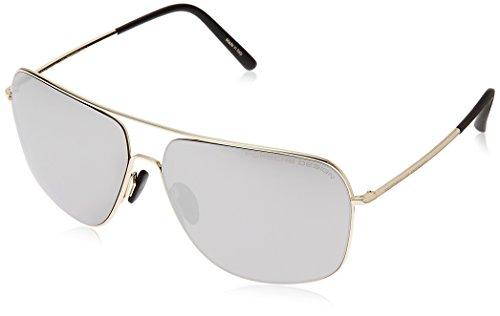 Porsche Design Men's P'8607 P8607 B Light Gold Fashion Sunglasses - Cheap Porsche Sunglasses