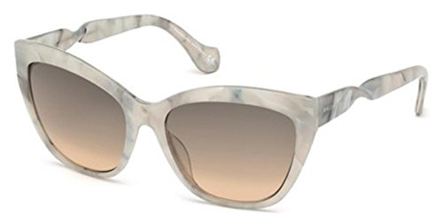 Sunglasses Balenciaga BA 52 BA0052 24B white/other / gradient smoke