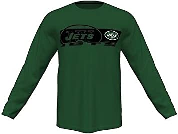 Amazon.com   Majestic York Jets Mens Long Sleeve Synthetic Storm Shirt  Green Big   Tall Sizes   Sports   Outdoors c90f57ad7