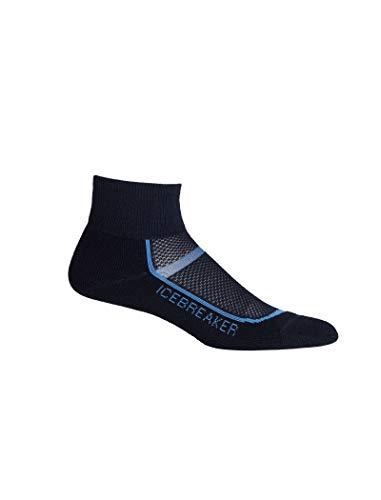 (Icebreaker Womens Multisport Light Mini Sock; Size: Large - Midnight Navy/Cove)