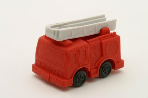 UPC 729440796167, Fire Engine Red Japanese Eraser. 2 Pack. By PencilThings