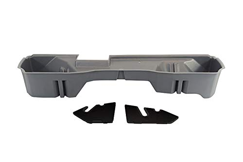DU-HA Under Seat Storage Fits 14-17 Chevrolet/GMC Silverado/Sierra Light Duty & Heavy Duty Double Cab, Ash/Gray, Part #10305 ()