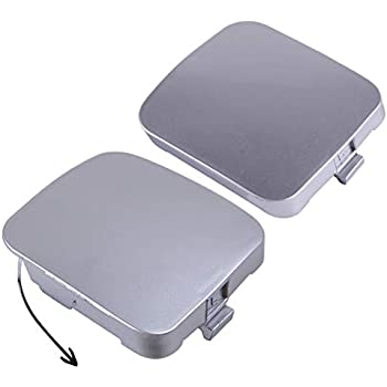 NewYall Front Right and Left Bumper Tow Eye Hook Trailer Cover Caps