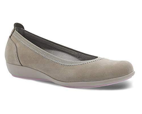 Dansko Women's Kristen Taupe Flat 8.5-9 M US (Dancos Shoes)
