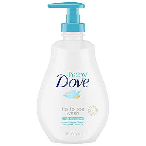 Baby Dove Tip to Toe Wash, Rich Moisture 13 oz