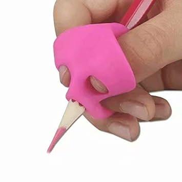 Herramientas de corrección de postura para escribir, para niños, 3 piezas/juego, soporte para lápiz, ayuda de postura: Amazon.es: Bricolaje y herramientas