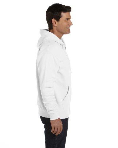Hanes 7.8 oz. ComfortBlend EcoSmart 50/50 Full-Zip Hood, Large, - 50 Zip Calibre
