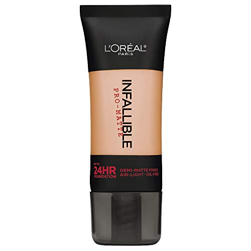L'Oréal Paris Makeup Infallible Pro-Matte Liquid Longwear Foundation, 103 Natural Buff, 1 fl. oz. ()