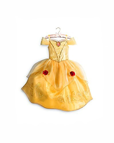 DISNEY STORE PRINCESS BELLE COSTUME DRESS GOWN BEAUTY BEAST - FALL - 2016 (Bella Beauty And The Beast Costume)
