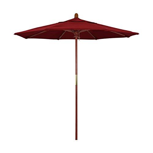 Red 7.5' Olefin Umbrella - 6