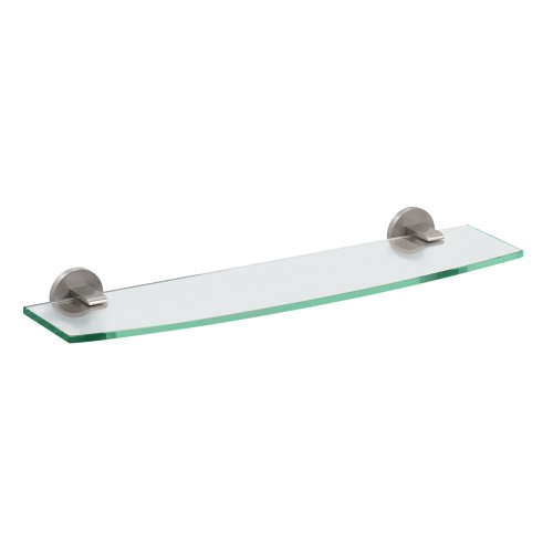 Gatco 4116 Zone Glass Shlef, Satin Nickel (Satin Shelf Vanity Nickel)