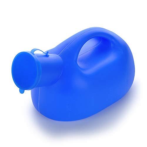 Gloveleya Male Plastic Urinal Men's Potty Pee Big Bottle for Camping Car Travel 2000ML