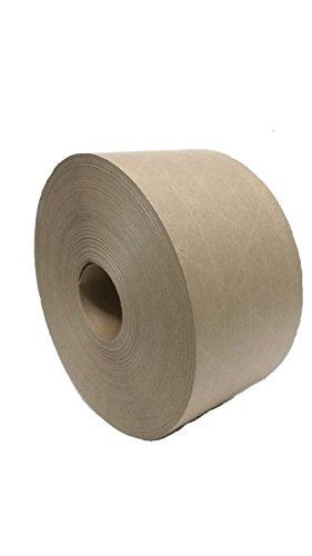 Central Brand Kraft Gummed Reinforced Tape K7006 2.36 inches (60mm) x 600 ft roll