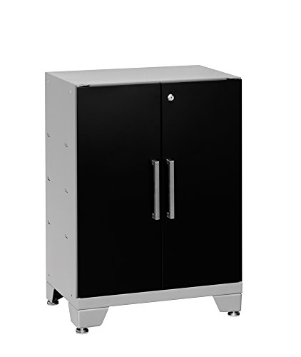 NewAge Products Performance Series Base Cabinet, 30 by 24 by 16'', Black by New Age